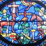 St. Eustace Window, Chartres Cathedral, France